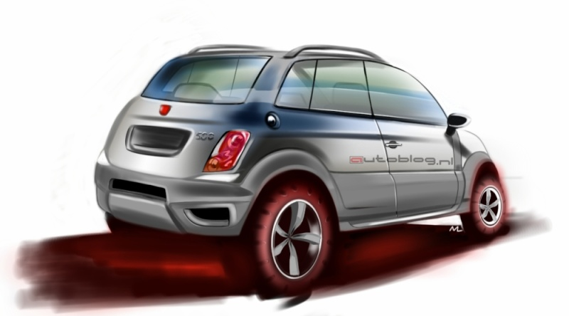 fiat 500 suv. Black Bedroom Furniture Sets. Home Design Ideas