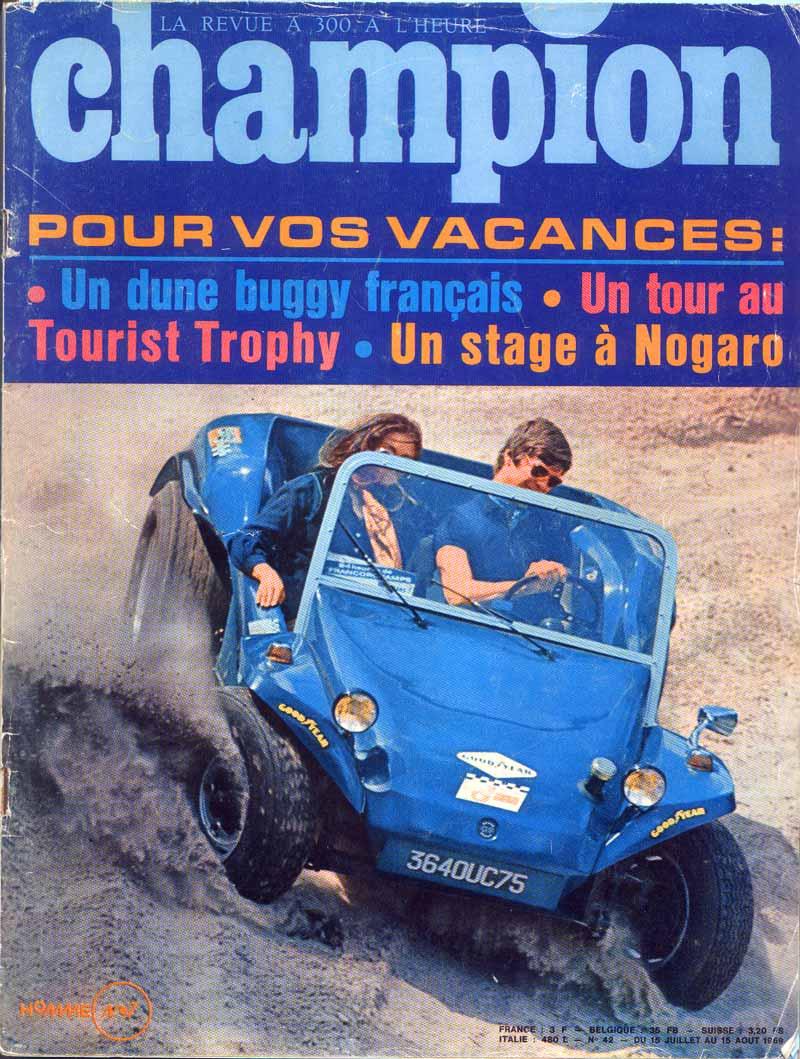 Brochures commerciales GP Beach et Super Buggies Couv-c10