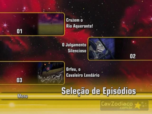 Cofret dvd saint seiya Dvd1me13