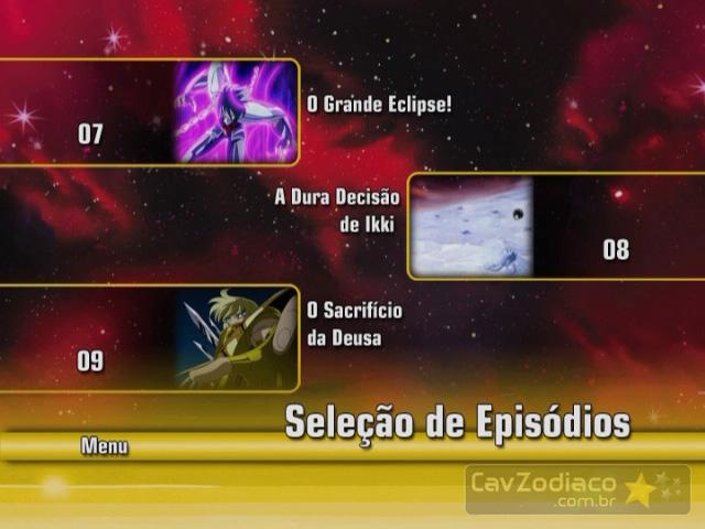 Cofret dvd saint seiya Dvd3me12