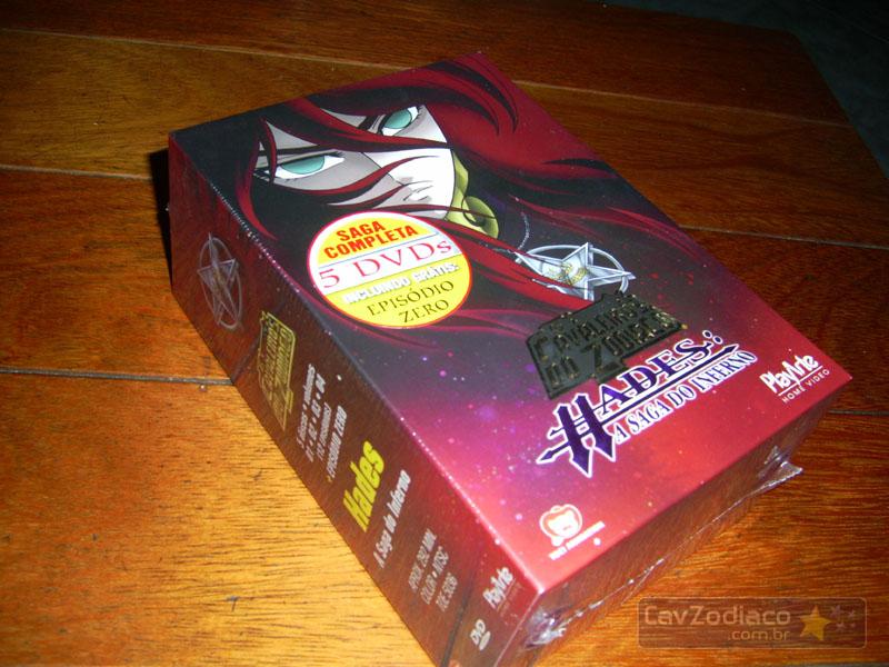 Cofret dvd saint seiya Dvdinf10