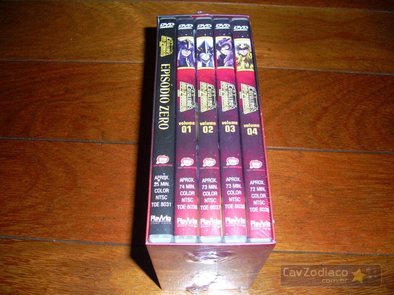 Cofret dvd saint seiya Dvdinf11