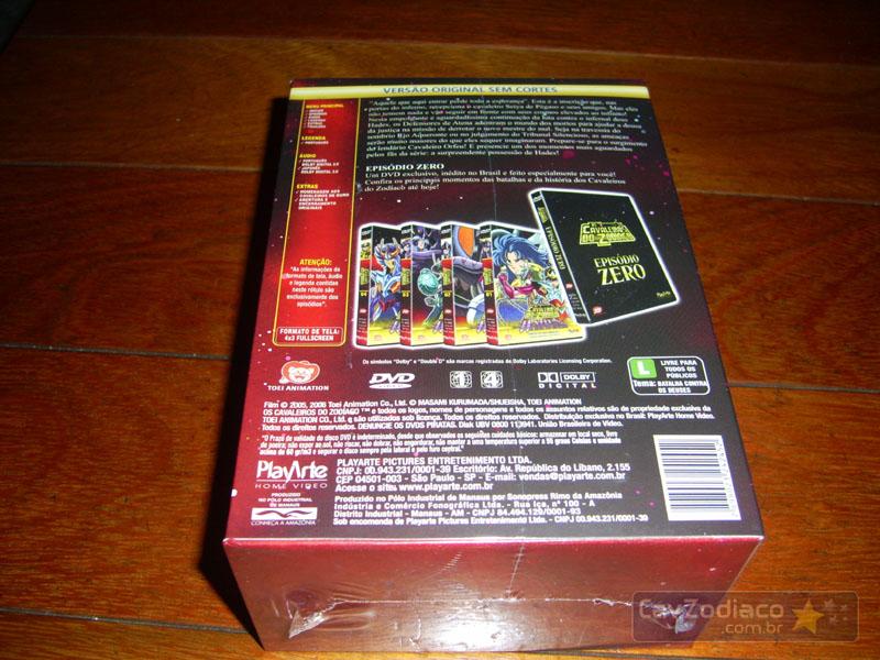 Cofret dvd saint seiya Dvdinf12