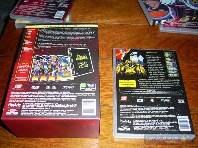 Cofret dvd saint seiya Dvdinf15