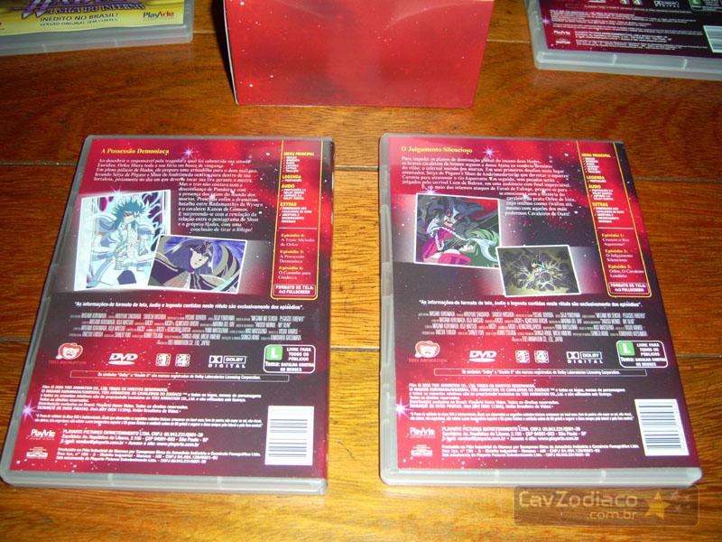 Cofret dvd saint seiya Dvdinf17