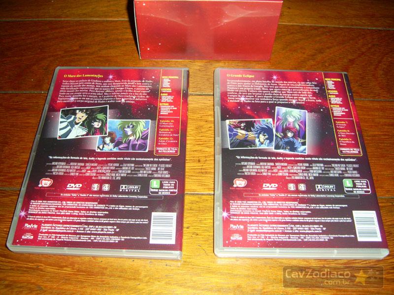 Cofret dvd saint seiya Dvdinf19