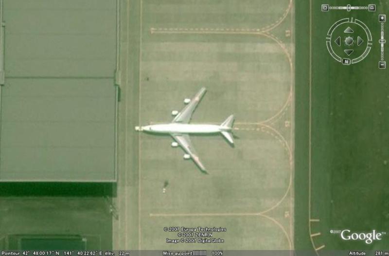 Les avions de transport de chef d'Etat 747chi11