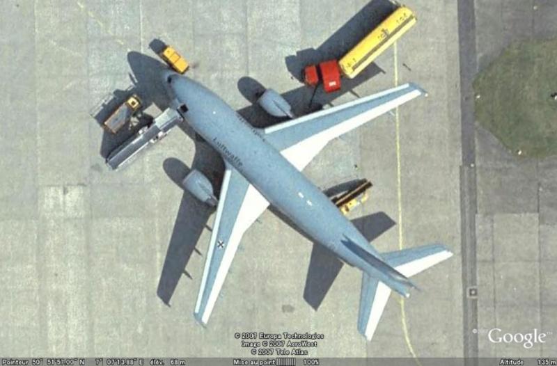 Les avions de transport de chef d'Etat A310-310