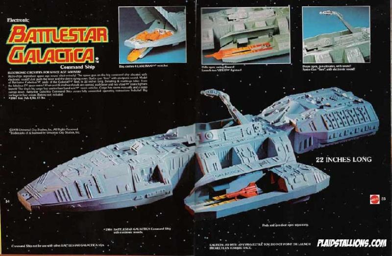 BATTLESTAR GALACTICA (Mattel) 1978 Bsg310
