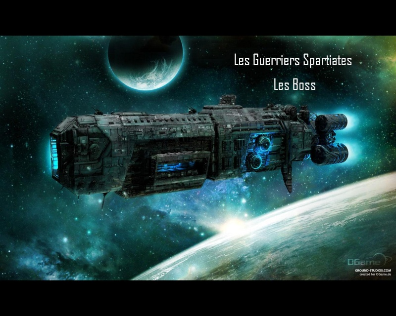Les Guerriers Spartiates -- Les Boss
