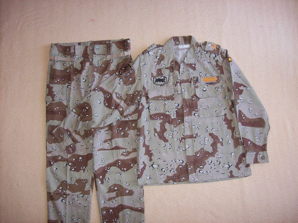 SPANISH LEGION 6 COLOUR DESERT uniform 100_6317