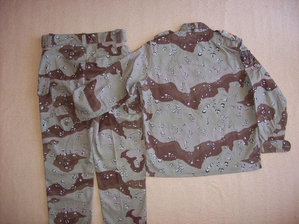 SPANISH LEGION 6 COLOUR DESERT uniform 100_6318