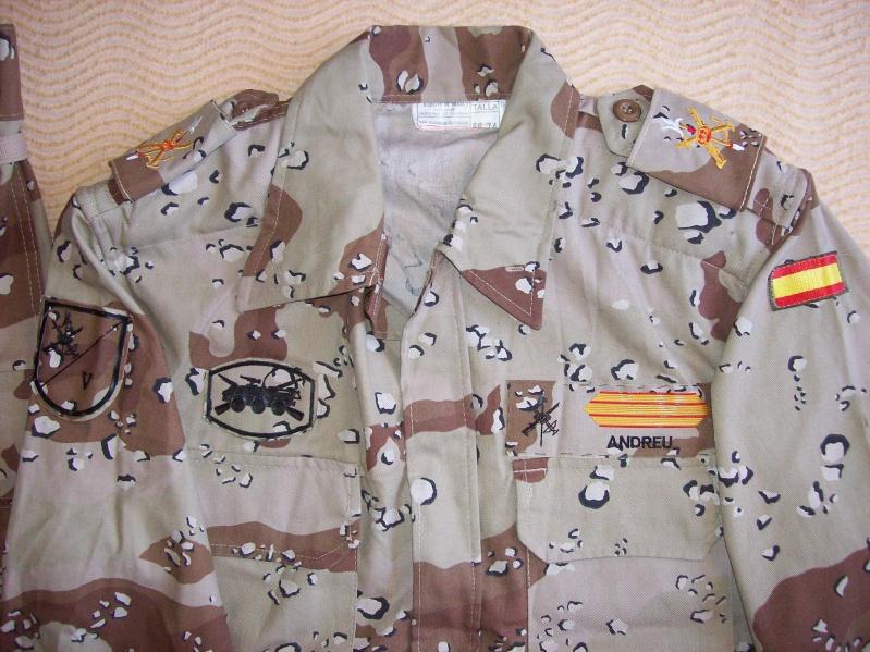 SPANISH LEGION 6 COLOUR DESERT uniform 100_6319