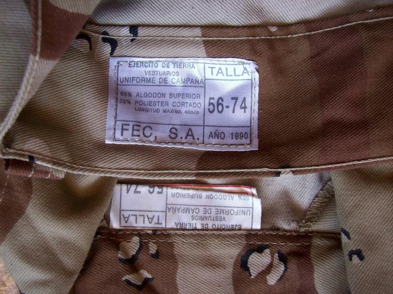 SPANISH LEGION 6 COLOUR DESERT uniform 100_6320