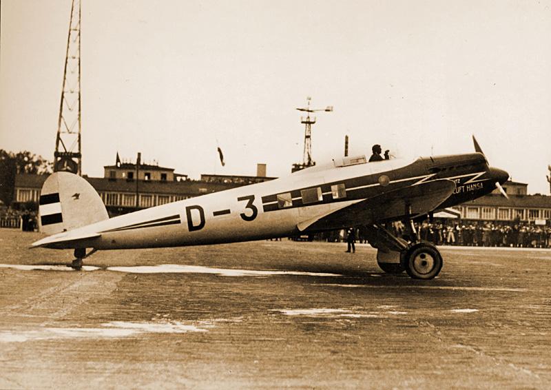 Heinkel He 70 G-1 (1935) [1:72 - Revell] 62269310