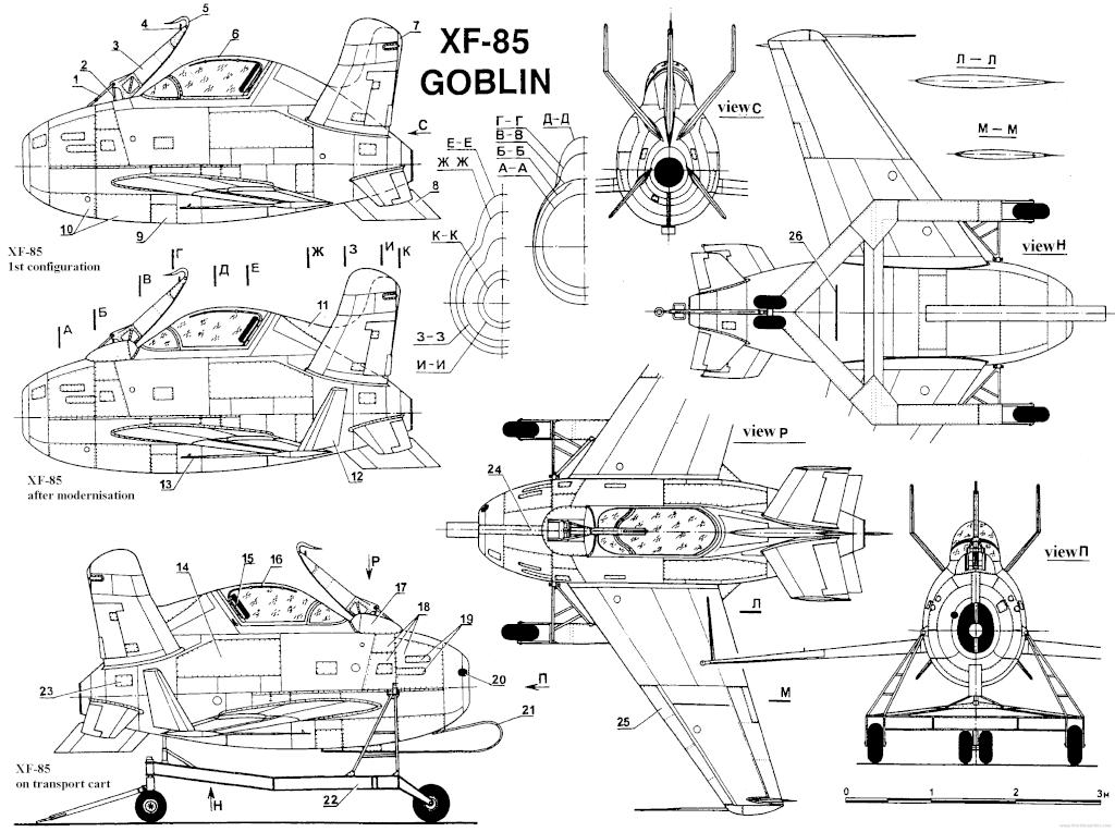 """McDonnell XF-85 """"Goblin"""" [1:72-MPM] Mcdonn10"""