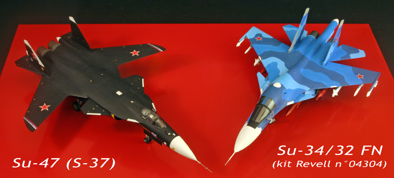 "Sukhoi Su-34 ""Fullback""  [1:72 - Revell] S37su310"