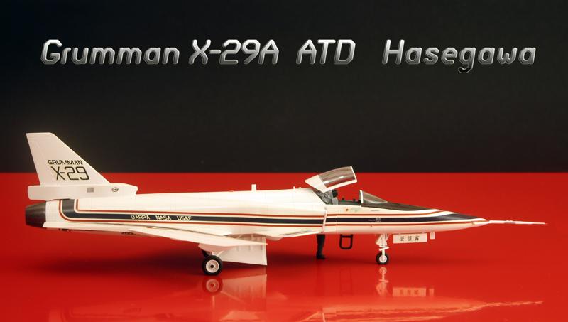 Grumman X-29A ATD [1:72 - Hasegawa] X-29_011