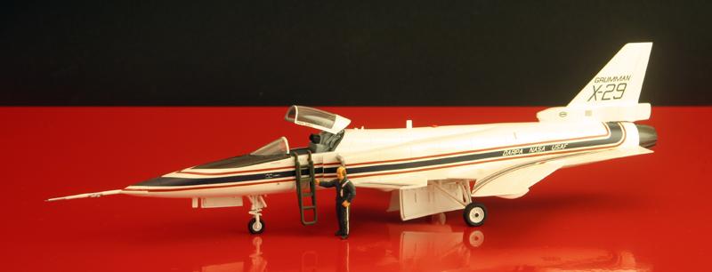 Grumman X-29A ATD [1:72 - Hasegawa] X-29_012