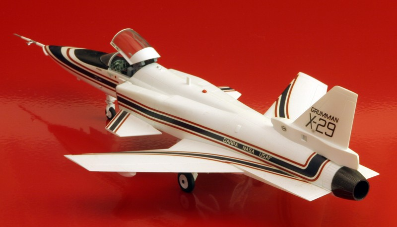 Grumman X-29A ATD [1:72 - Hasegawa] X-29_015