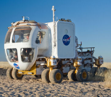 Modular Robotic Vehicle: La voiture électrique autonome de la Nasa Protot10