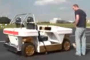 Modular Robotic Vehicle: La voiture électrique autonome de la Nasa Protot11