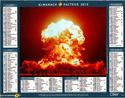 un timbre pour les 50 ans des ICBM Calend11
