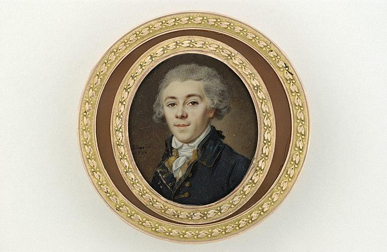 Portraits de Marie-Antoinette et Louis XVI, par Louis-Marie Sicard, dit Sicardi ou Sicardy Barnav10