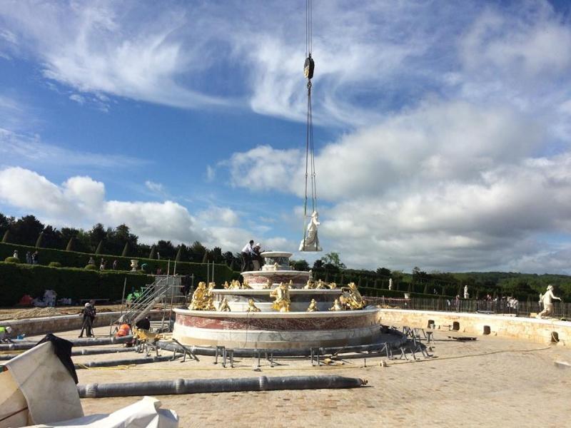 Restauration du bassin de Latone Latone11