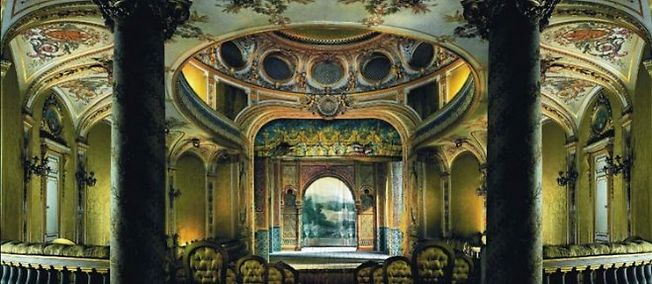 Le théâtre de Fontainebleau  Theatr10