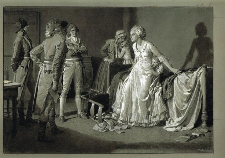 Portraits de Marie-Antoinette dans les prisons du Temple et de la Conciergerie Tumblr10