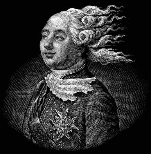 Les rois et reines caricaturés, les caricatures à l'époque de la Révolution française et de la Restauration - Page 2 Un_ven10