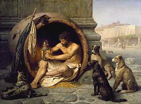 Diogène de Sinope, aussi appelé Diogène le cynique [Philosophie] 280px-10