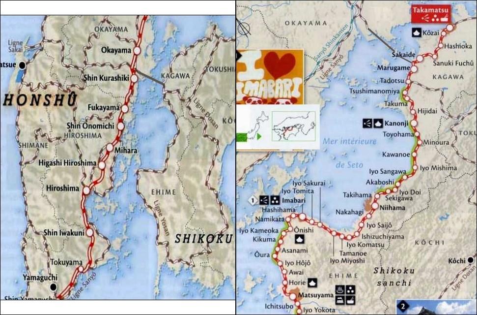38- MATSUYAMA (Shikoku) - y aller depuis Kure (Hiroshima) Japan_12