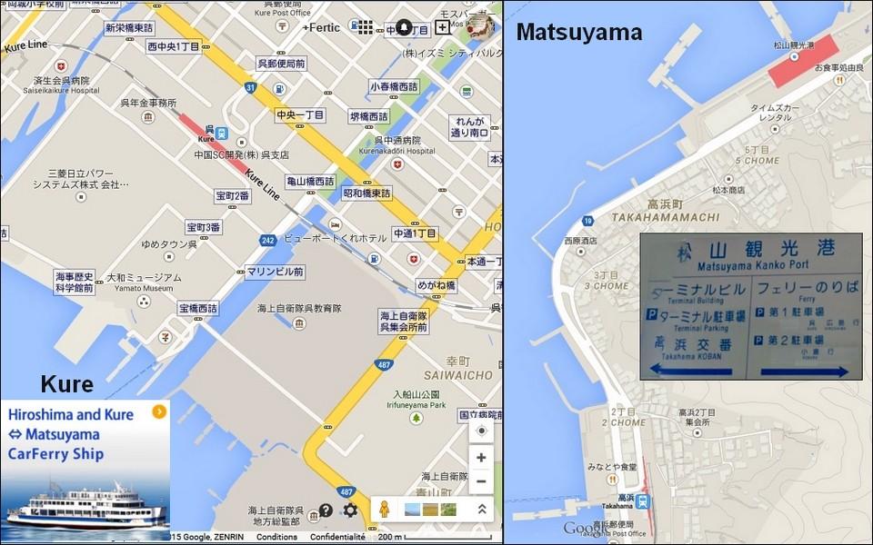 38- MATSUYAMA (Shikoku) - y aller depuis Kure (Hiroshima) Kure10