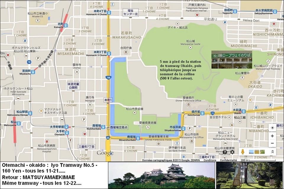 38- MATSUYAMA (Shikoku) - y aller depuis Kure (Hiroshima) Matsuy10