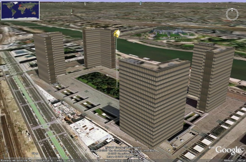 Bâtiments 3D avec textures - PARIS et Région parisienne [Sketchup] - Page 2 Bnf_0110
