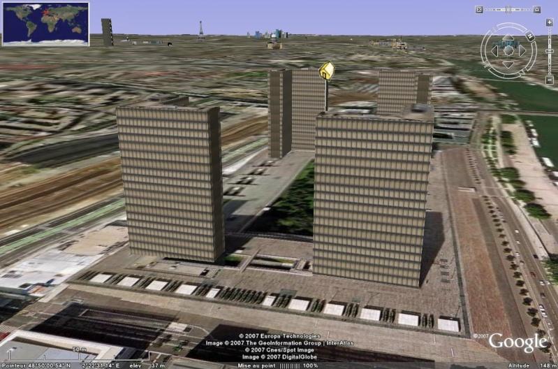 Bâtiments 3D avec textures - PARIS et Région parisienne [Sketchup] - Page 2 Bnf_0210