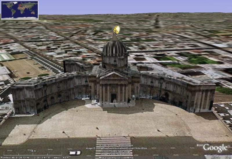 Bâtiments 3D avec textures - PARIS et Région parisienne [Sketchup] - Page 4 Instit10