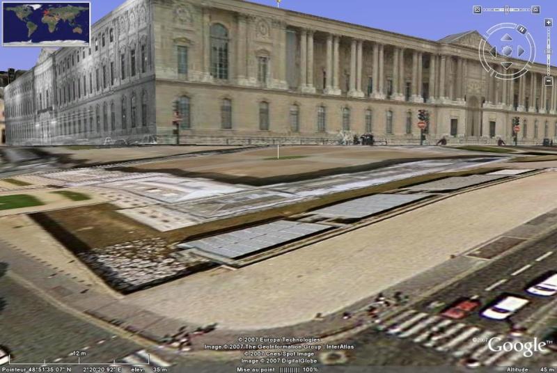 Bâtiments 3D avec textures - PARIS et Région parisienne [Sketchup] - Page 2 Louvre10
