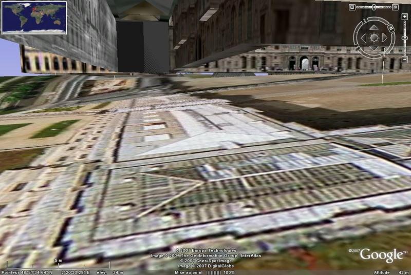 Bâtiments 3D avec textures - PARIS et Région parisienne [Sketchup] - Page 2 Louvre11