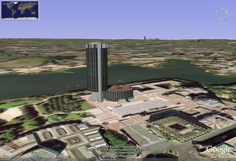 Bâtiments 3D avec textures - PARIS et Région parisienne [Sketchup] - Page 3 Mairie10