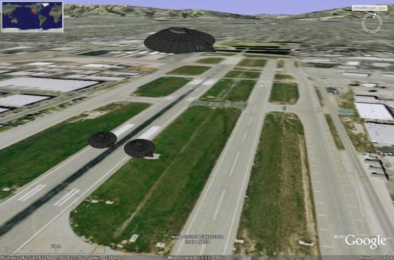 Modèle 3D - Navette Ascender (de Bristol Spaceplanes Limited) en Overlay Reconn10