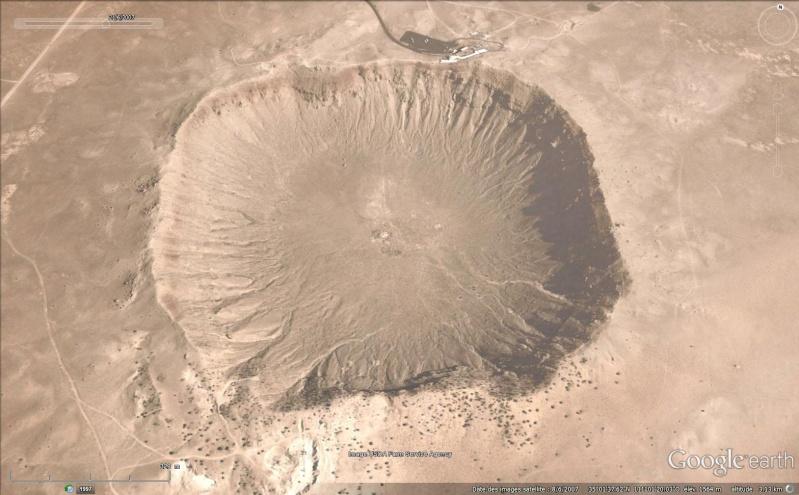 Cratères de météores Sans_170