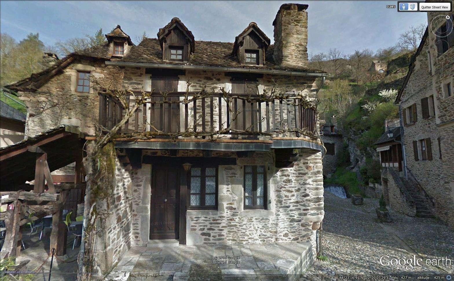 Tour de France virtuel - Les Plus Beaux Villages de France Sans_309