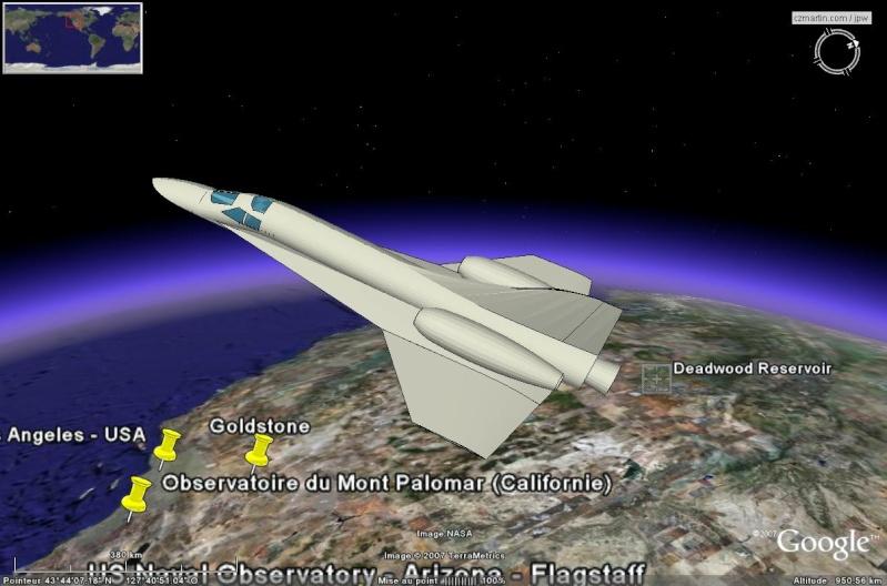 Modèle 3D - Navette Ascender (de Bristol Spaceplanes Limited) en Overlay X-15_o10