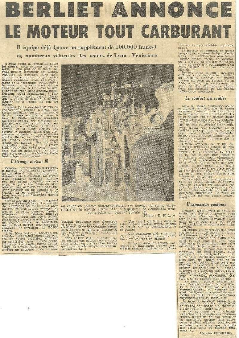 Pub , catalogues et livres sur BERLIET 218