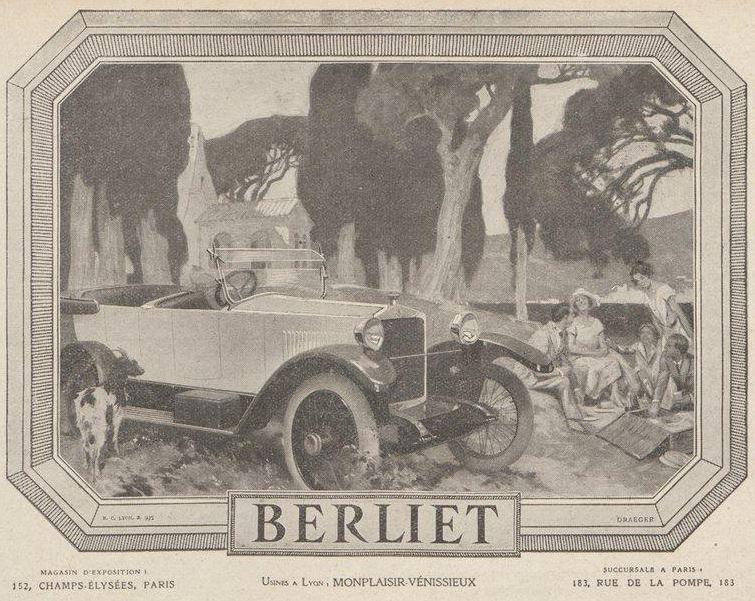 Pub , catalogues et livres sur BERLIET Berlie14