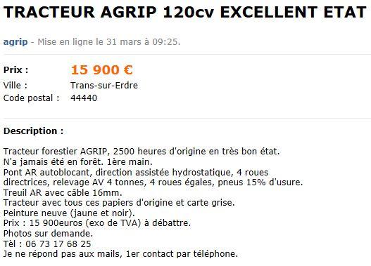 Les AGRIP en vente sur LBC, Agriaffaires ou autres - Page 2 Captu168