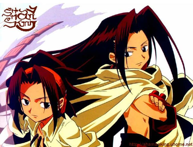 Shaman King (anime cartoon serial) Asakur10